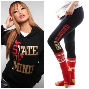 Adapt State of Mind Hoodie & Gold Blooded Leggings